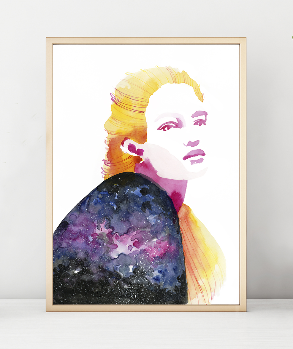 poster_woodframe_space1